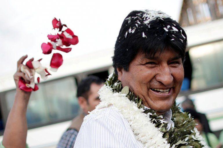 Evo Morales vuelve a Bolivia y lo hará por Jujuy