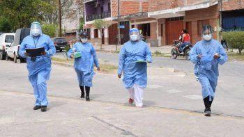 Reporte de casos de covid en Jujuy