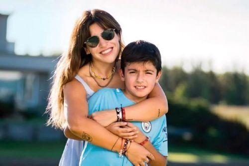 El hijo del Kun y Gianinna Maradona tiene coronavirus: Te amo covidero, aseguró su mamá