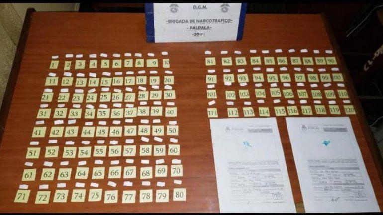 Secuestro de cocaína en Palpalá