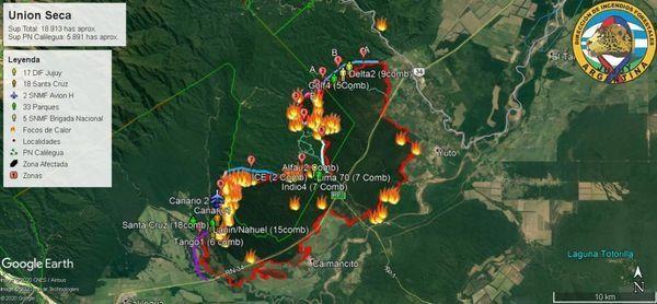 Incendios en Jujuy: cuántas son las hectáreas afectadas y cómo es la situación actual - 27 de octubre de 2020
