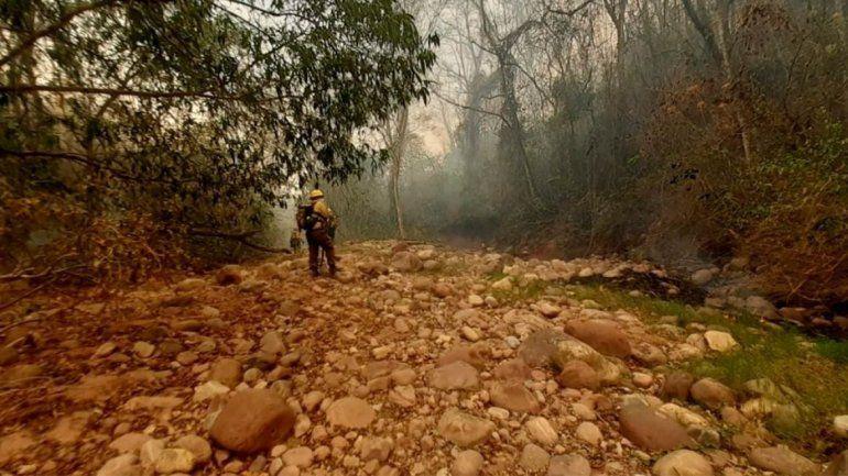 Incendios en el Parque Nacional Calilegua, en Jujuy.