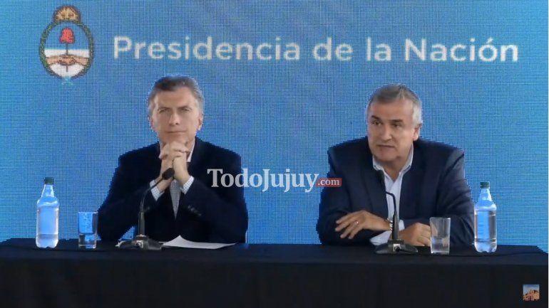 Mauricio Macri: Jujuy lidera la transformación productiva del país