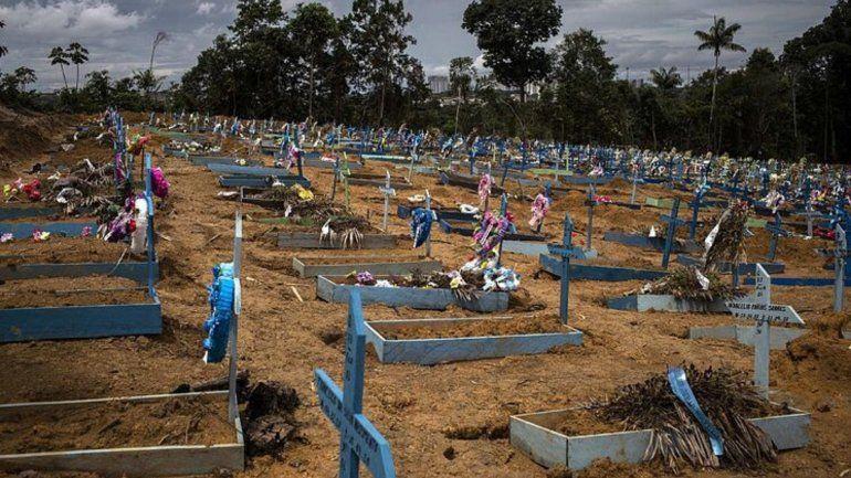 Brasil lidera la triste cifra de muertos con covid-19 en Latinoamérica con más de 246.500 decesos por esta enfermedad y más de 10 millones de contagios.