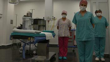 El equipo médico de vasectomía del hospital Gallardo de Palpalá. /Foto: Ministerio de Salud de Jujuy