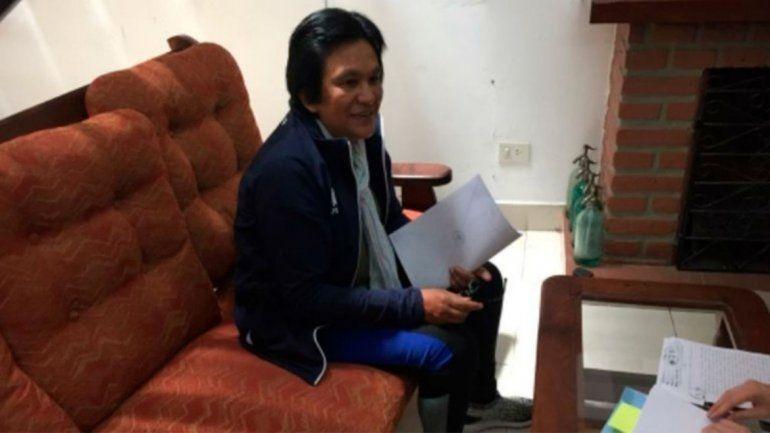 Milagro Sala recibe la notificación judicial donde consta el cese de prisión preventiva en la Megacausa.