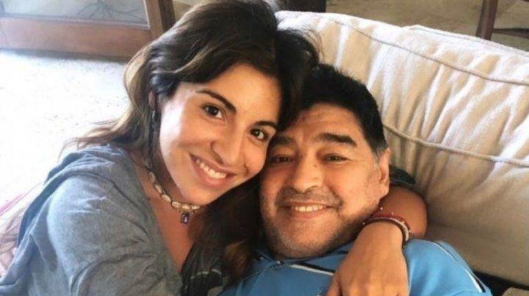 Gianinna recordó a Diego Maradona: Bajá un ratito, prometo que dejo que te vuelvas