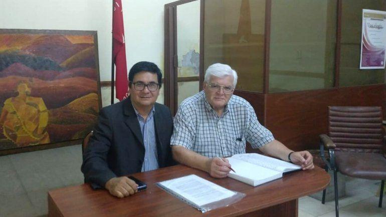 Federico Sola (vicepresidente) Carlos Vaca Petrelli (Presidente)