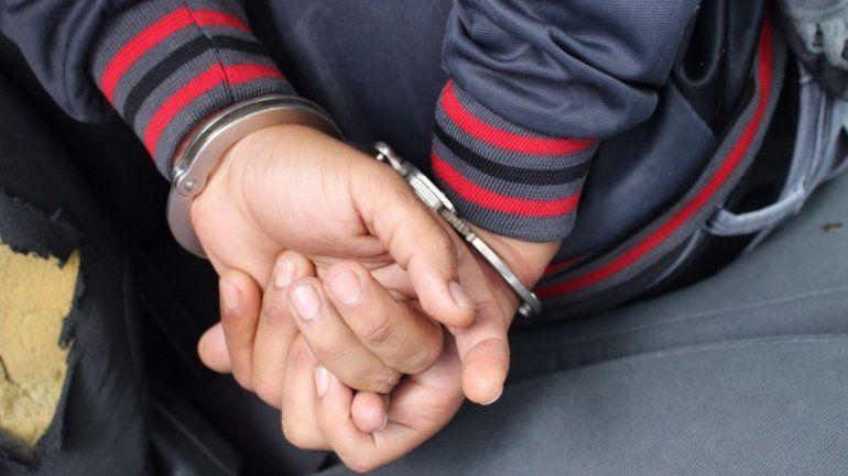 Jujuy: detención de un joven en la vía pública
