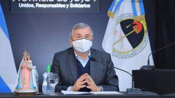 Gerardo Morales confirmó que en Jujuy continuará el uso del barbijo al aire libre