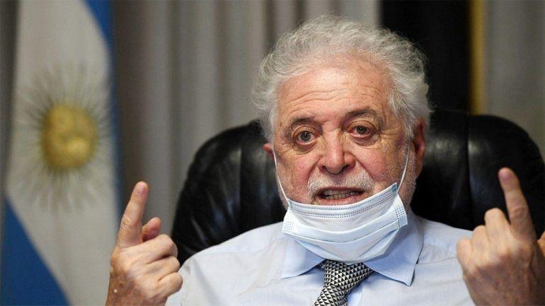 Ginés González García y los medicamentos contra el covid.