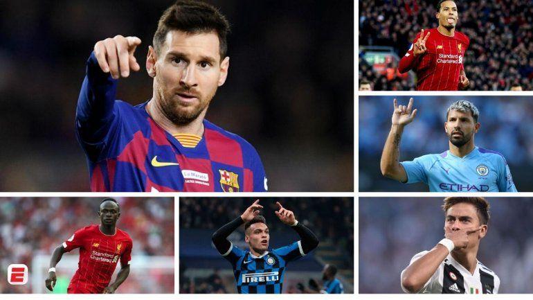 Un diario inglés eligió a los mejores 100 mejores futbolistas: hay seis argentinos