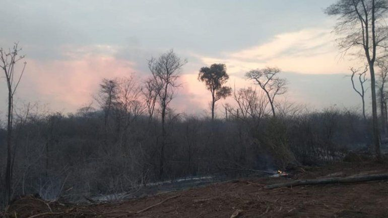 Siguen activos los incendios en Jujuy