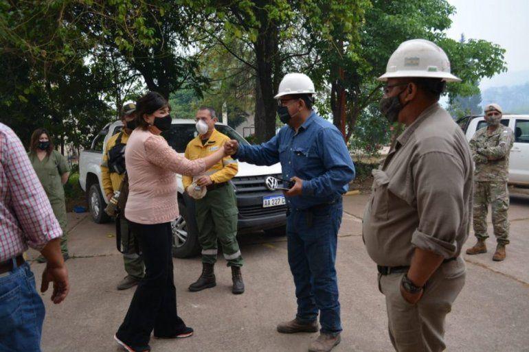 Jujuy: llegan 44 brigadistas para combatir los incendios