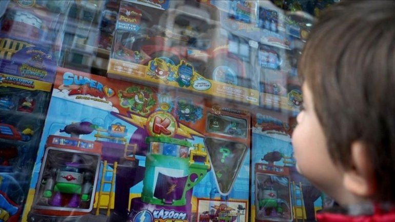 Los juguetes aumentaron un 40% en relación al 2020
