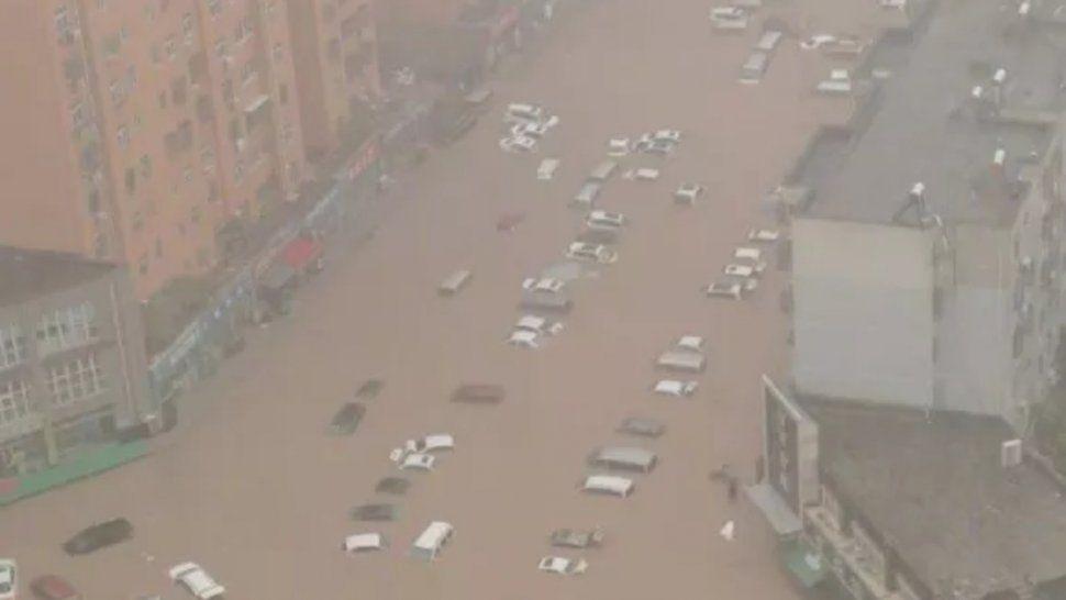 Las graves inundaciones que acontecieron luego de las fuertes lluvias