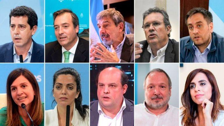 De Pedro, Soria, Ferraresi, Salvarezza, Bauer, Cabandié, Raverta, Volnovich, Ceriani, Sabatella y Donda.