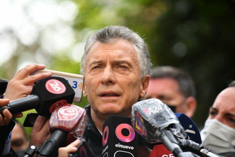 El ex presidente Mauricio Macri votó en las elecciones 2021.