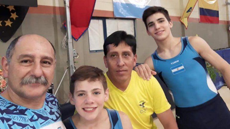 Santiago Ferrari y Santiago Martin fueron elegidos como los jujeños destacados del 2018