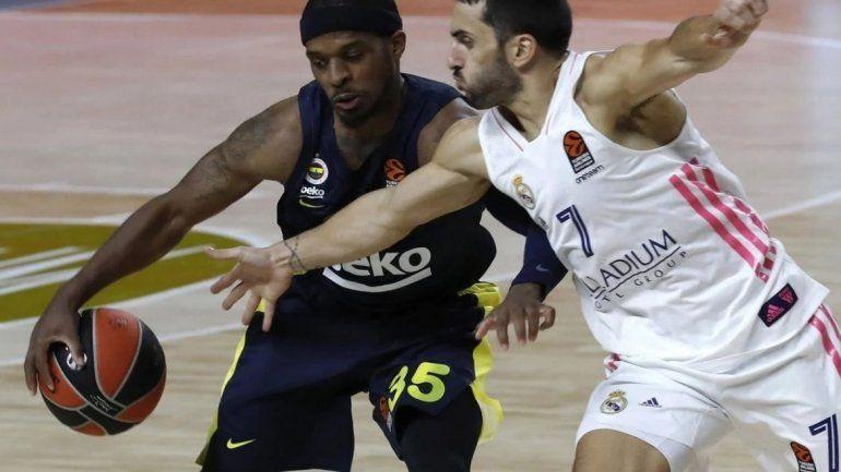 Facundo Campazzo en su último partido de Euroliga
