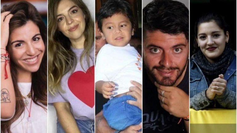 Los hijos reconocidos de Maradona.