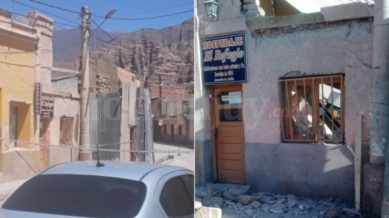 Derrumbe en una casa de Tilcara: Murió una mujer