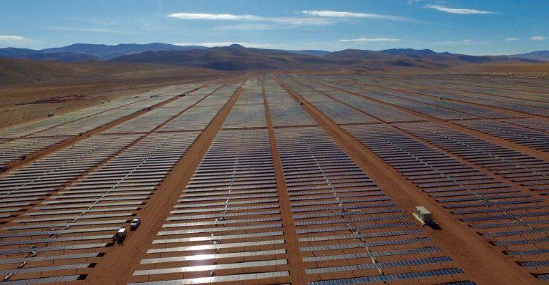 Cauchari empezó a vender energia renovable