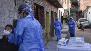 Reporte de casos de COVID-19 en la provincia de Jujuy