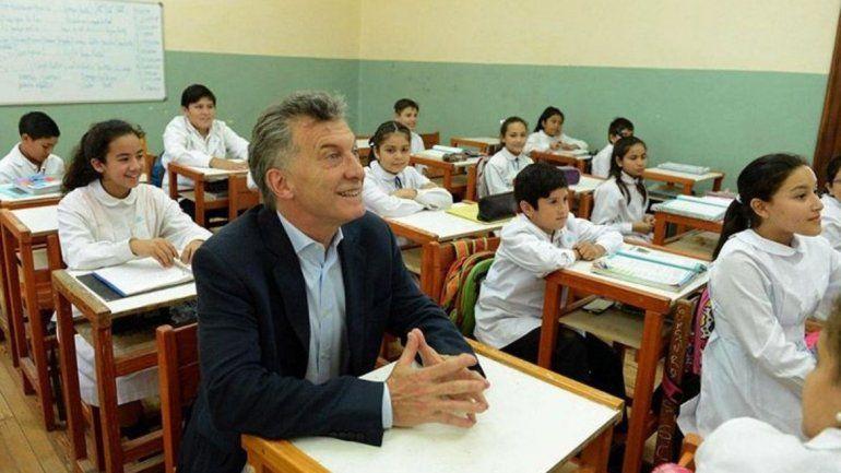 Reapareció Macri y pidió que abran las escuelas