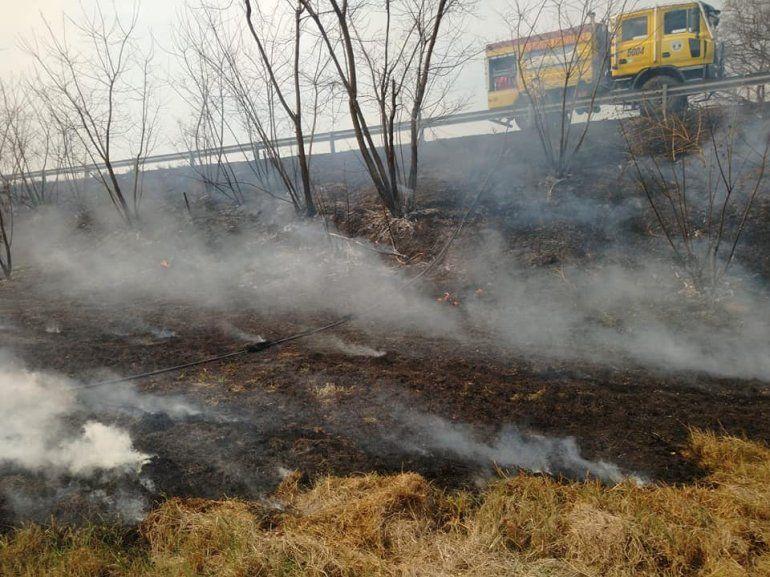 Jujuy: controlaron el incendio de Ruta 66