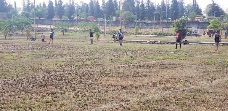 Los Perales Rugby retomó los entrenamientos
